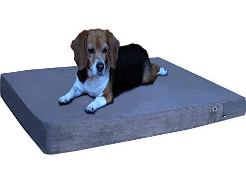 Dogbed4less Orthopedic Gel Memory Foam Dog Bed...