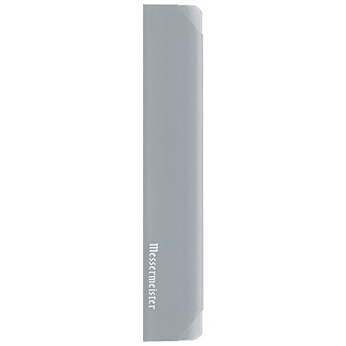 Messermeister Chef's Knife Edge Guard, 10 Inch, Translucent Silver