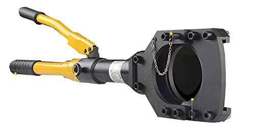CGOLDENWALL Φ 75 mm Cortador de cable hidráulico Manual Cortador de cable Alambre Cuerda Tijera Forceps para cortar de cobre aluminio Cable alambre rosca de acero