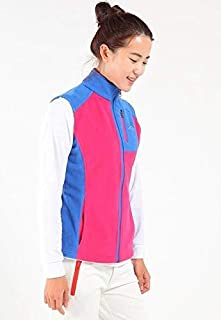 Woman Blue L Winter Polar Fleece Vest for Women Men's Hiking Jacket Fishing Vest for Men Outdoor Women's Warm Fleece Jackets Mens Warm Vest