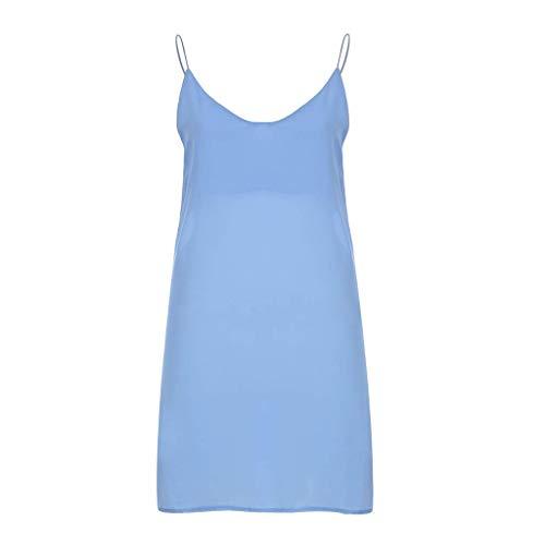 Ga eerste Dames Zomer Effen Kleur Jurk Comfortabele Natuurlijke Suspender Rok Eenvoudige Temperament Mooie Jurk