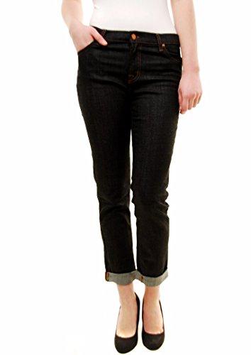 JBrand Damen Aidan Boy Jeans 1214O264 Dunkelblau Größe 25