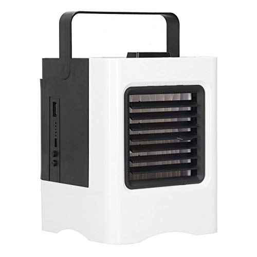 Purificador de Aire humidificador, Aire Acondicionado portátil portátil de Carga USB Personal con Aire Acondicionado para la Oficina de la habitación