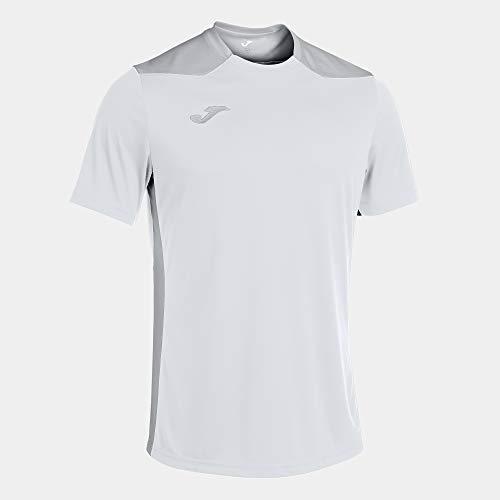 Joma Camiseta Manga Corta Championship Vi Blanco Gris, XL