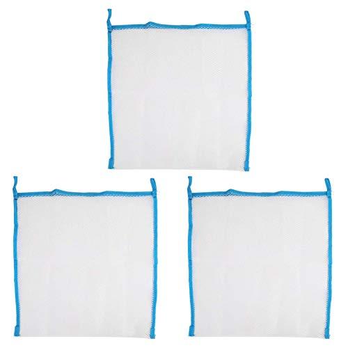 SALUTUYA Bolsa de Almacenamiento para Ducha Resistente a Las Arrugas Bolsa de Almacenamiento Duradera y Firme para Puerta(Blue)