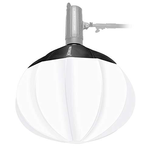 Neewer Linterna del Globo Softbox Difusor 80cm para Luz LED Flash Estudio Monolight Estroboscópico y Otras Luces Montaje Bowens para Estudio Fotográfico Retrato y Producto Bolsa de Transporte Incluida