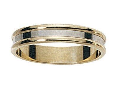 www.diamants-perles.com Unisex Ring JOSITA, Gold 375/1000, 59 (18.8), FBH2011699-JB-59
