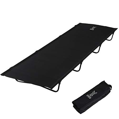 DOD(ディーオーディー) バッグインベッド バッグに入る軽量ベッド ツーリングにも CB1-510K ブラック (約)W183×D72×H15.5cm