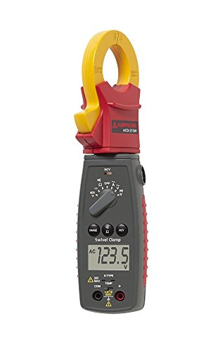 Amprobe ACD-21SW 600V Swivel Clamp Meter with Temperature and VolTect Non-Contact Voltage Detection