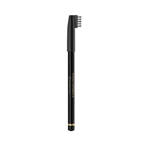 Max Factor Eyebrow Pencil Hazel 01 – 2-in-1 Augenbrauenstift mit Bürste – Augenbrauen nachziehen leicht gemacht – Farbe Hellbraun – 1 x 1 g