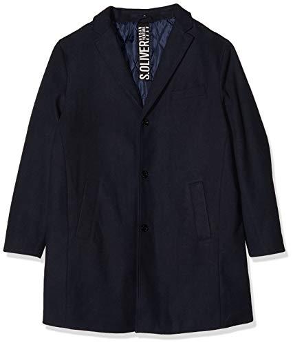 s.Oliver Big Size Herren 28.910.52.3283 Mantel, Blau (Fresh Ink 5952), XXXX-Large (Herstellergröße: 4XL)