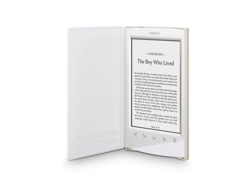 Sony PRSA-SC22 - Funda blanda para ebook Sony PRS-T2, color blanco
