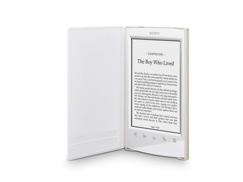 Sony PRSA-SC22 - Funda blanda para ebook Sony PRS-T2, color blanco