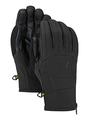 Burton Mens Ak Tech Glove, True Black New, Medium