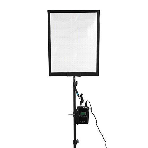 DAUERHAFT Luz de Video de Tela Enrollable Ajuste Continuo del Brillo Luz de Tela en Rollo 5(European Standard (100-240v))