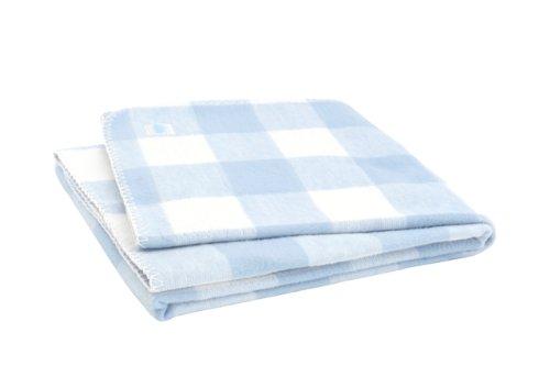 Jollein 514-522-64962 deken, 100 x 150 cm, check blue