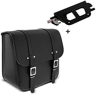 anno di costruzione 2007//–/2010 Buffalo Bag Lato Sinistro per borsa per sellino Harley Davidson V-Rod In Metallo
