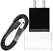 Mi 2A 10W Charger with Cable (1.2 Meter, Black)