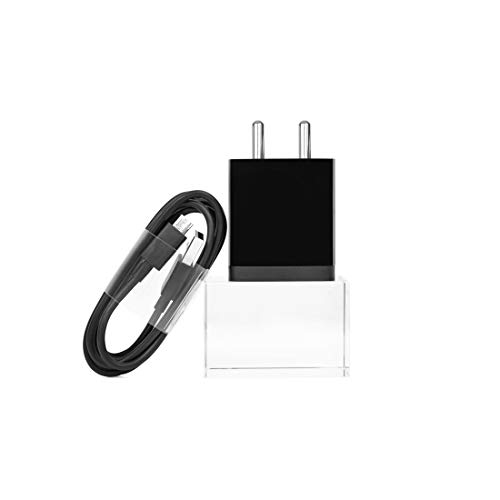 Mi 10W Wall Charger for Mobile Phones with Micro USB Cable (Black)