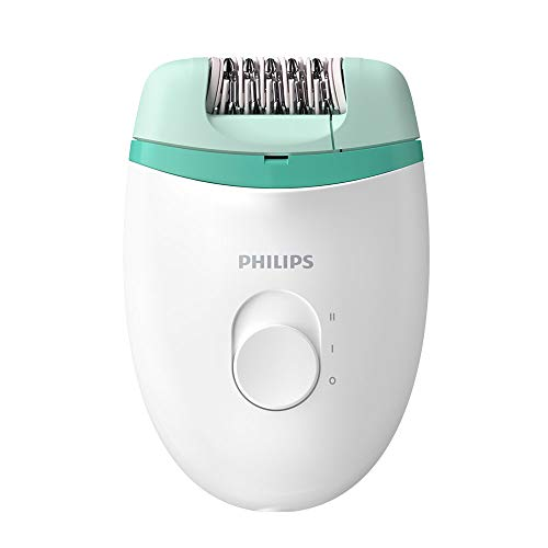 Philips Satinelle Essential Epilator, Corded, Compact Hair Removal, BRE224/00