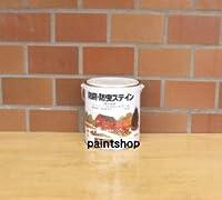 ロックペイント 防腐・防虫 屋外木部用ステイン ナフタデコール 0.7L ホワイト