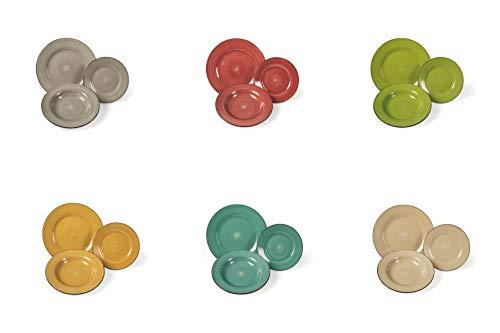 Vajilla Chianti 18 piezas