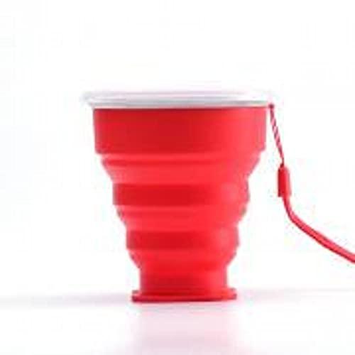 YYIXING Taza de 300 ml con asa y tapa a prueba de fugas, libre de BPA, no tóxico, elegante y creativo, reutilizable, portátil para fiestas de verano y regalos
