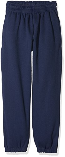 Fruit of the Loom Jungen Classic Elasticated Cuff Jog Pants Kids Sporthose, Blau (Navy 200), 128 (Herstellergröße: 7-8)