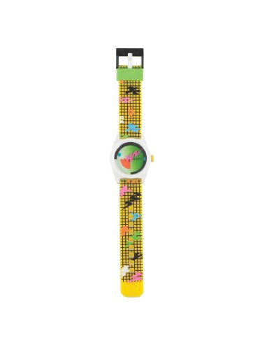 Neff Daily Wild Watch Uhr Grid, Yellow, Uni