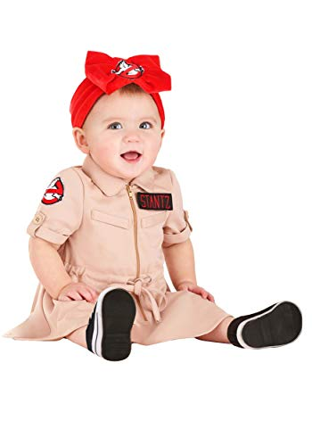 Ghostbusters Infant Dress Costume, 0/18 Months