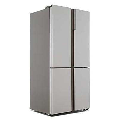 Haier HTF-610DM7 Cube Series American Style Fridge Freezer