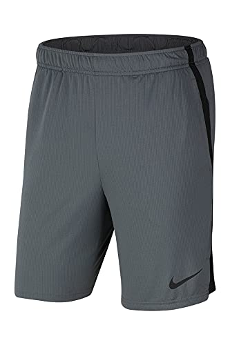 Nike Men's Dry Short Hybrid 2.0, Iron Grey/Black/Black, 2XL