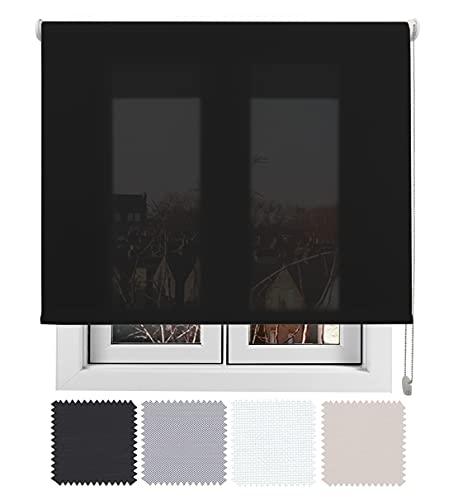 EB ESTORES BARATOS Estor Luminoso TECNOSCREEN/Bloqueo UV 70{f5ba4dd8f6c789ee8116eabce74b7f2e71bc5511674f51208badaa74e8930930} Termoregulador y acústico. LO AJUSTAMOS A SU Medida Ancho x Alto. Color: Antracita. Medidas: 55cm x 160cm