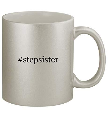 #stepsister - 11oz Silver Coffee Mug Cup