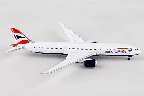 Herpa 528948-001 British Airways Boeing 787-9 Dreamliner-G-ZBKM - Vehículo en Miniatura