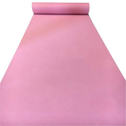 LIYIN-tapijt volledige rol lange tapijt roze wegwerp verdikking 2 MM slijtvast antislip nonwoven runner-up VIP tapijt voor trappen/partij/Aisle