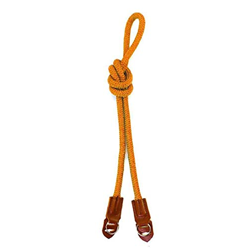 Cámara De Cuerda De Nylon Correa De Cuello De Cuello De Cinturón De Cinturón De Correa De Pulsera para Cordón para Cámara SLR Digital Naranja