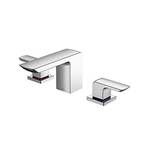 TOTO TLG02201U#CP Gr 1.2 GPM Two Handle Widespread Bathroom Sink Faucet, Polished Chrome