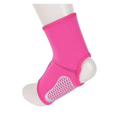 Elastische Protect Knöchelsicherheitsausrüstung Sport Jogging Basketball Knöchelbandage 1 Paar Sport Knöchelstütze (Color : MR, Size : L)
