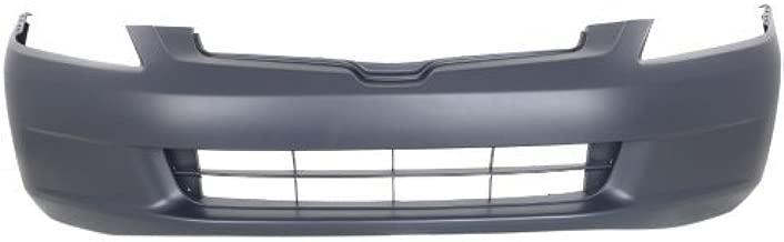 Front Bumper Cover Compatible with 2003-2005 Honda Accord Primed Sedan - CAPA