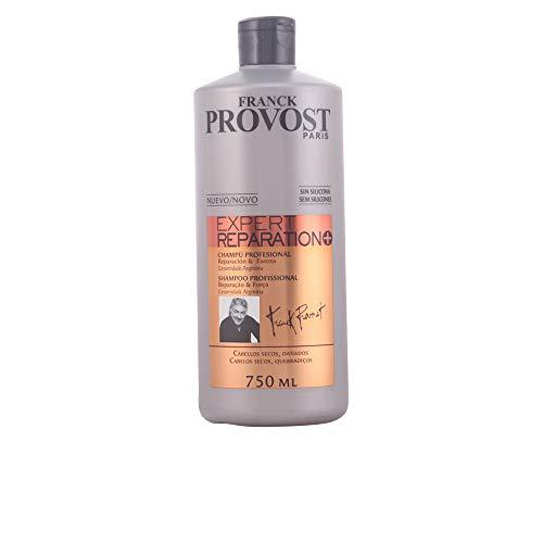 Franck Provost - Expert Reparation+ - Champú profesional para cabellos secos, dañados - 750 ml
