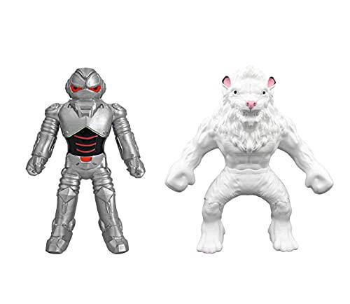 Elastikorps 3 monstruos elásticos extensibles: Kimba + Cybork