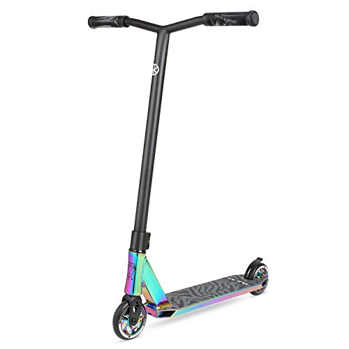 VOKUL K1 Pro Scooters - Stunt Scooter | Trick Scooter - Intermediate and Beginner Freestyle Scooter for Kids 8 Years and UP,Teens and Adults -Quality Kick Pro Scooter for Boys and Girls (Neo)