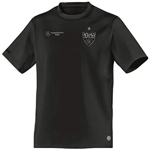 JAKO Erwachsene VfB Stuttgart Classic T-Shirt, schwarz, 3XL