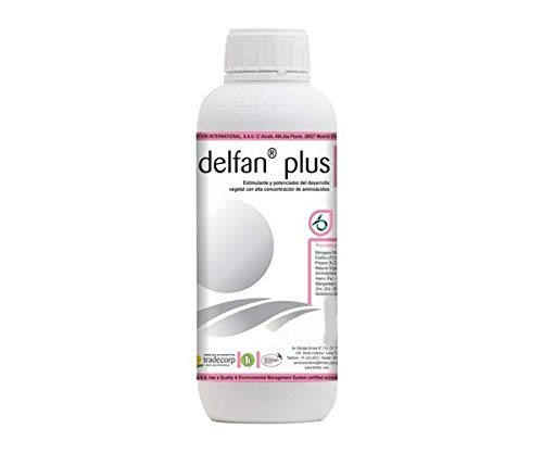 Tradecorp Delfan Plus Engrais foliaire Liquide Professionnel 100% Azote Organique