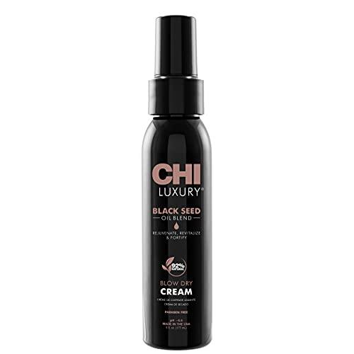 CHI Luxury Black Seed Oil Blow Dry Cream, 6 Fl Oz
