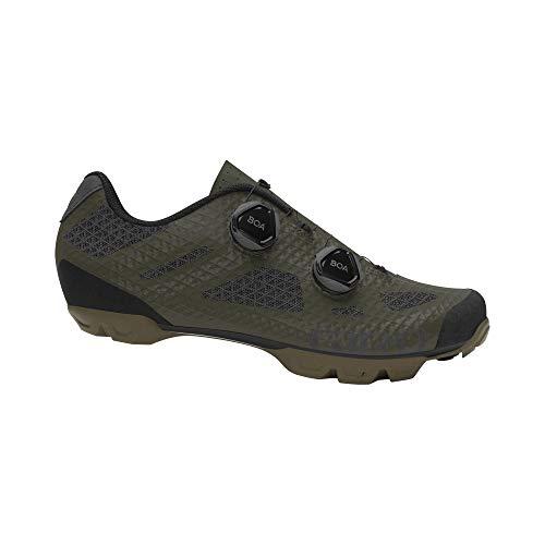 Giro Sector, Olive/Gum - Zapatos para Hombre, Talla 48