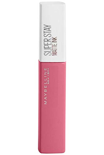 Maybelline New York - Superstay Matte Ink, Pintalabios Mate de Larga Duración, Tono 125 Inspirer