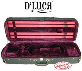 D'Luca CP03 Oblong Violin Case Burgundy - 4/4
