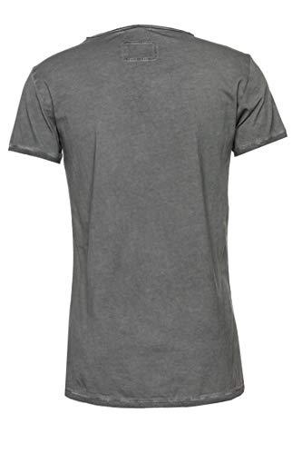 Tigha Herren T-Shirt Maik Grau S